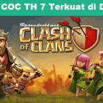 20+ Base COC TH 7 Terkuat di Dunia Susah Ditembus