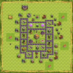 Base TH 7 Farming Terkuat didunia
