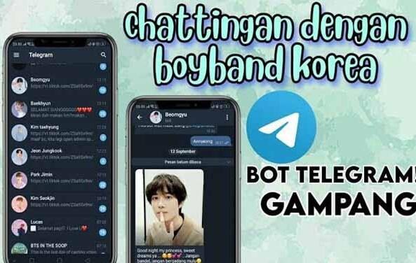 Bot Telegram K Pop Chat Dengan Personil Bts