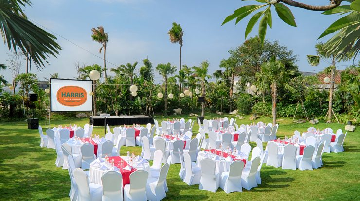 Garden Party ala Harris Hotel Sunset Road Bali